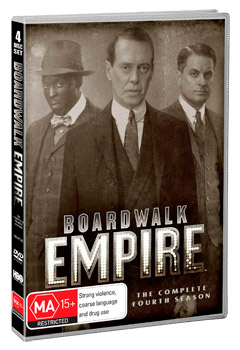 Boardwalk Empire: The Complete Fourth Season DVD