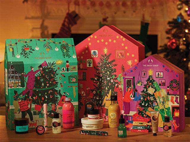 Body Shop Advent Calendar
