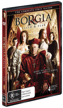 Borgia Faith and Fear The Complete First Season DVD
