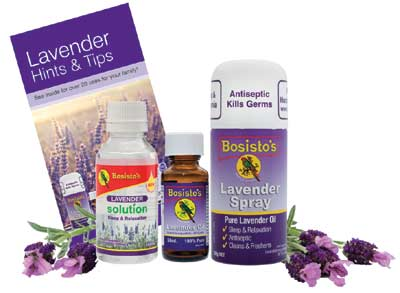 Bosisto's Lavender Packs