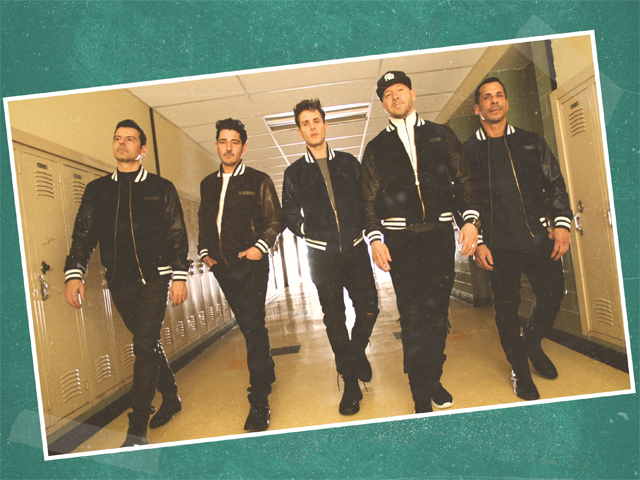 New Kids On The Block Boys In The Band