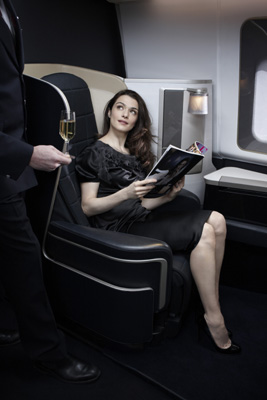 Fly First Class with British Airways