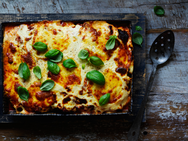 Cheats Onion Lasagna