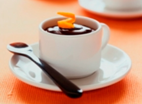 Simple Chocolate Mousse with Orange Oil and Spiced Salt