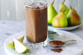 Choc Pear Smoothie