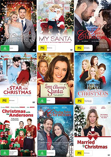 Win a Christmas DVD Pack