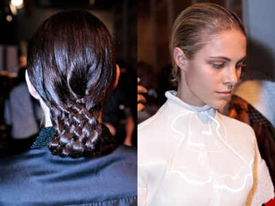 How To Achieve Christopher Esber Runway Hair