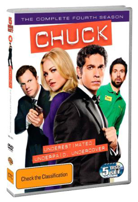 Chuck The Complete Forth Season DVD
