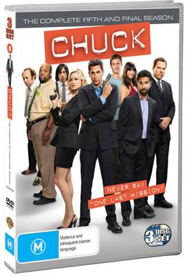 Chuck The Complete Fifth and Final Season DVD