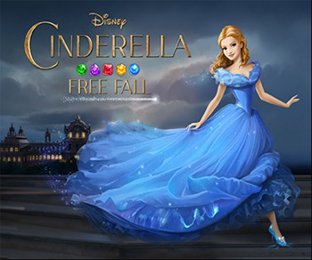 Disney's Cinderella Free Fall Takes Players on an Enchanting Puzzle Adventure