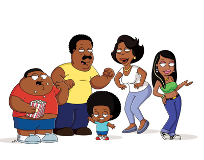 The Cleveland Show Season 2 DVDs