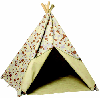 CleverPatch Jungle Camouflage Teepee