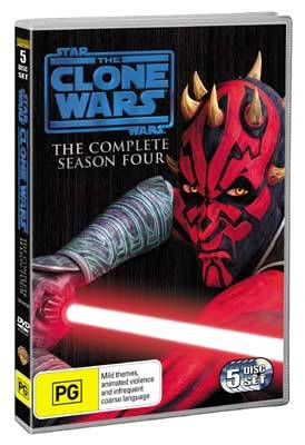 Star Wars the Clone Wars The Complete Season Four DVD