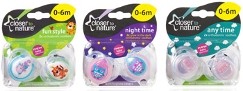 closer to nature Soother Range