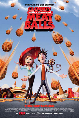 Anna Faris & Andy Samberg, Cloudy with a Chance of Meatballs Interview