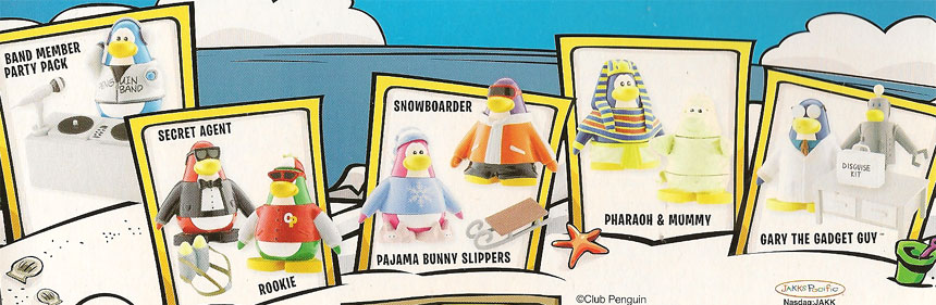 Club Penguin Plush Toys Waddle on to Store Shelves