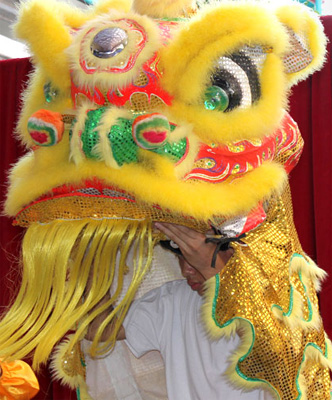 Welcome The Dragon - Chinese New Year 2012 begins January 23
