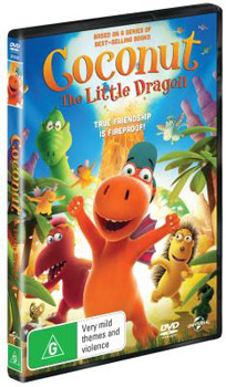 Coconut the Little Dragon DVD