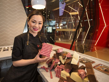 Connie Yuen KitKat Chocolatory Interview