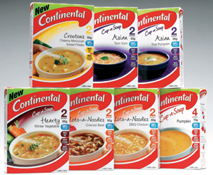 Suffering from Three Thirtyitis - Continental Cup of Soup has the answer