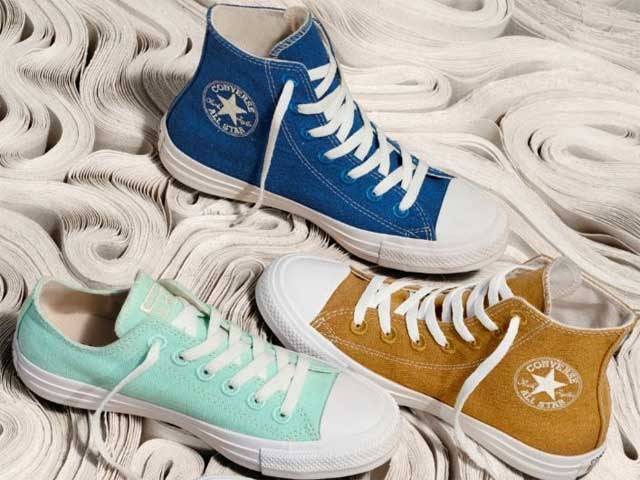 Converses RENEW Cotton Collection