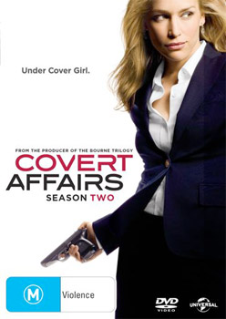 Covert Affairs Season 2 DVD