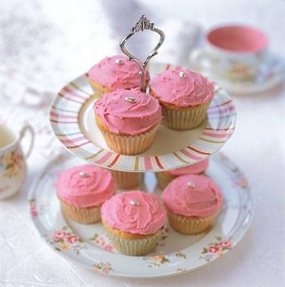 Cranberry Cup Cakes