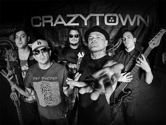Crazy Town The Gift Of Game 20th Anniversary Australia and NZ Tour.