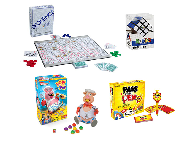 Win one of 2 Game Packs to keep you busy in isolation