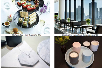 Crown Melbourne's Top Gift Solutions to Indulge Mum this Mother's Day