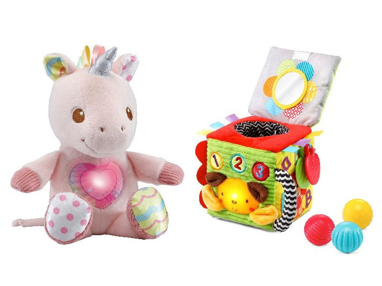 Cuddles Unicorn and Discovery Ball Cube
