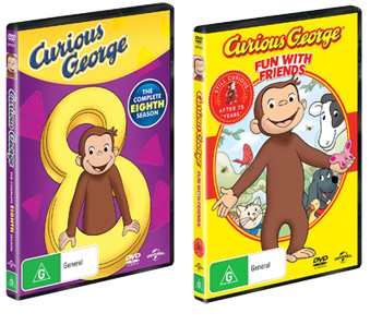 Curious George: The Complete 8th Season DVD