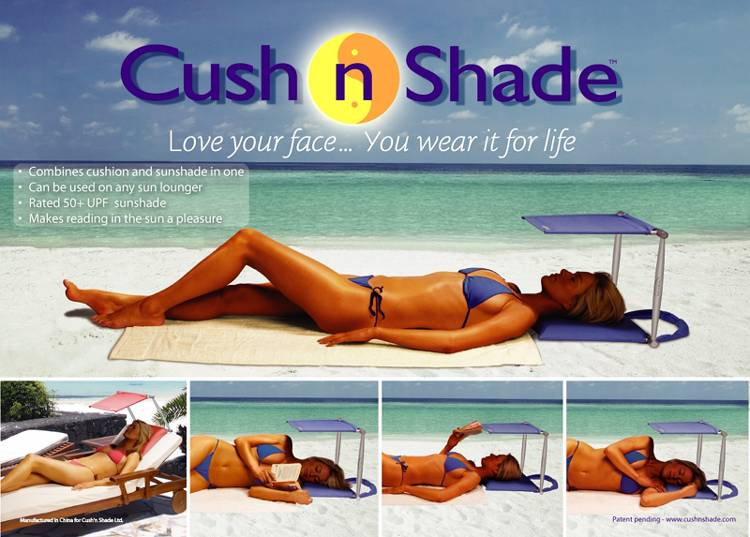 Cush n Shade, Love Your Face - You Wear It For Life