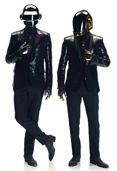 Daft Punk With Five Grammy Awards