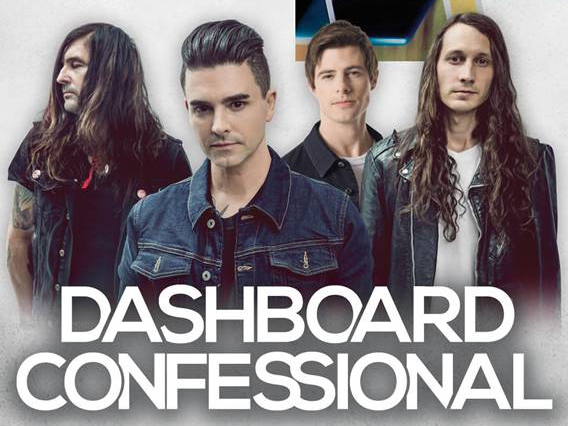 Dashboard Confessional The Places You Have Come To Fear The Most Tour
