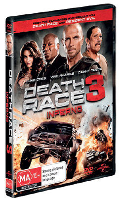Death Race 3: Inferno DVD