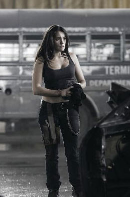 Natalie Martinez Death Race Interview