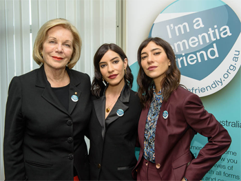 The Veronicas Raise Their Voices as Dementia Australia Ambassadors