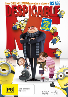 Despicable Me DVDs