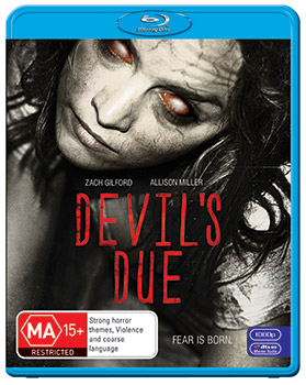 Allison Miller Devil's Due DVD Interview