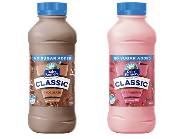 Dairy Farmers Classic No Sugar Added Range