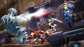 Disney Interactive Marvel Battlegrounds