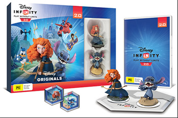 Disney-Themed Toy Box Combo Pack