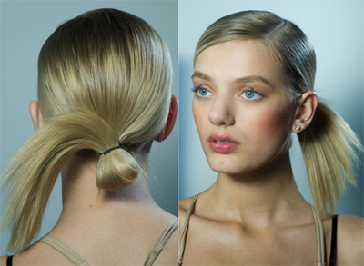 DKNY Collection Hair Look