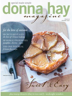 Donna Hay Magazine 32 Autumn cooking, special made simple