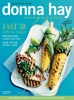Donna Hay Magazine Issue 43 - Fast 50 barbecue recipes