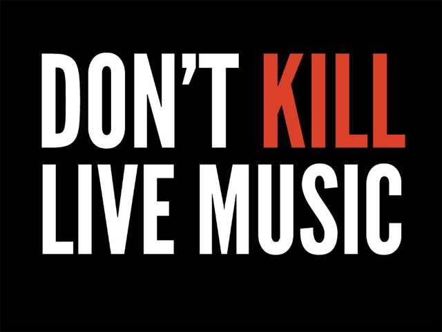 Don't Kill Live Music Rally
