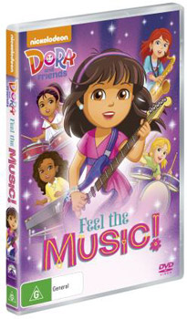 Dora and Friends: Feel the Music! DVD