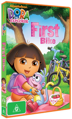 Dora the Explorer: First Bike DVD