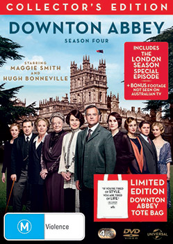 Downton Abby S4 DVDs